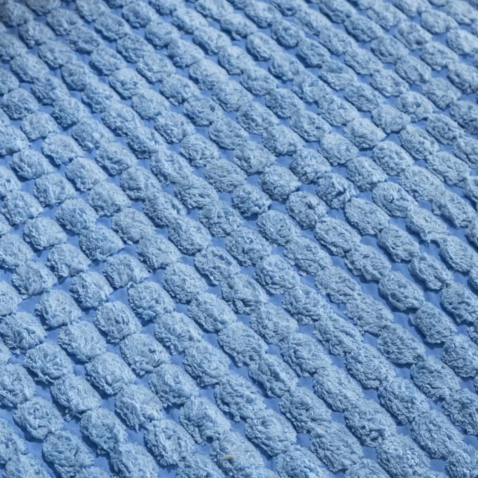 *Jacquard Fleece Long Multiple Memory Foam Non-Slip Bath Rug - Final Sale