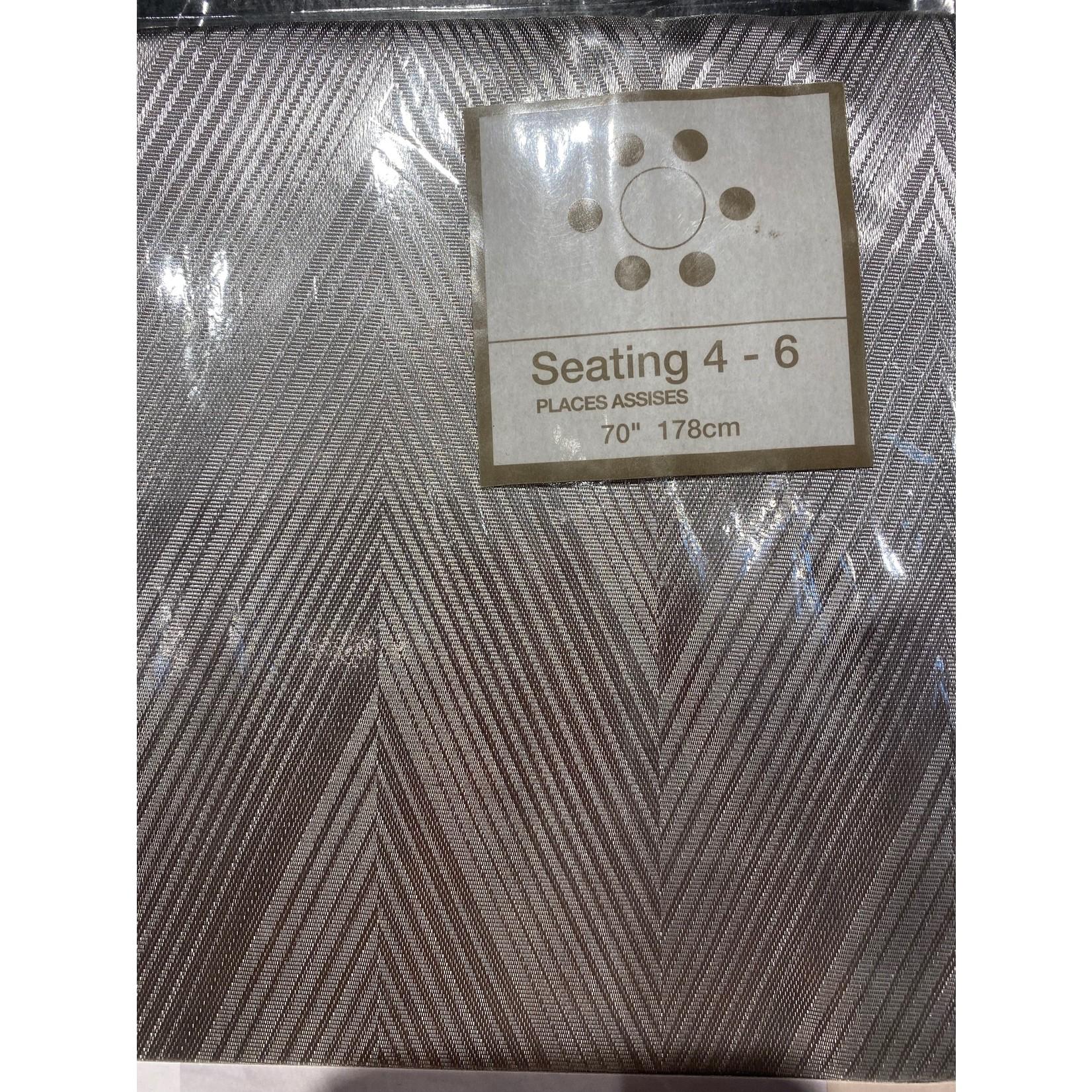 "Manhattan Table Cloth - 70"" x 70"" Round"