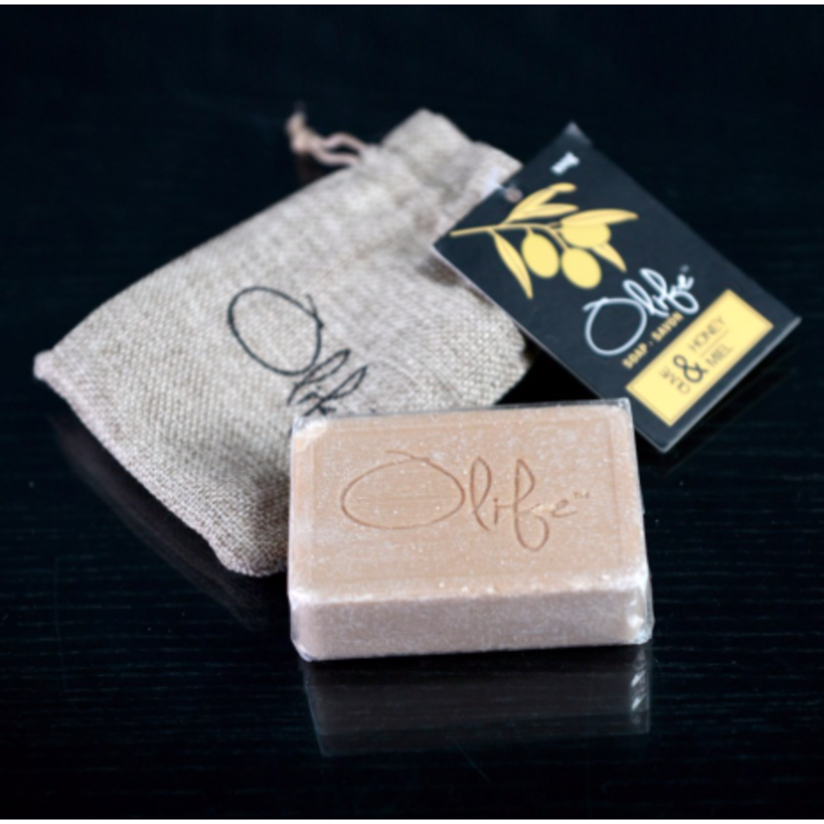 HANDMADE OLIVE SOAP - HONEY (Brown)
