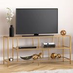 "*TV Stand for TVs up to 60"" Color Gold"