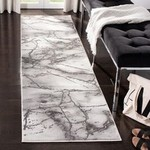 *2'3 x 12' - Coupland Abstract Gray Area Rug