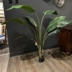 *Artificial Palm Tree in Pot - Damage to Pot
