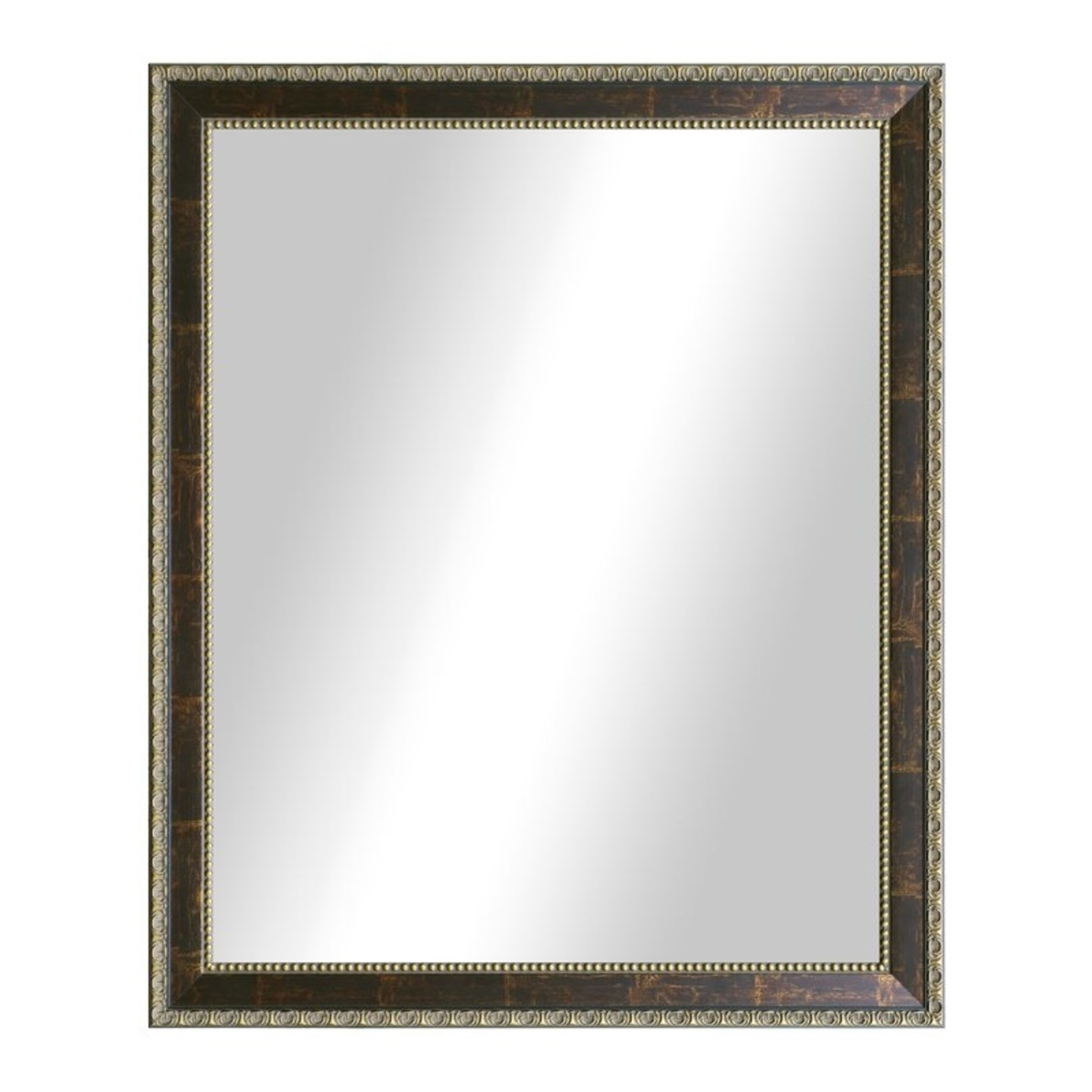 *Fryman Traditional Rectangle Copper Bronze Accent Mirror