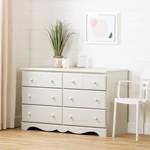 *Summer Breeze Kids 6 Drawer Double Dresser - Damaged