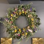 *Cockscomb and Strawflower Wreath