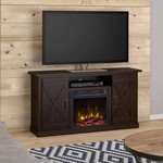 "*Lorraine TV Stand for TVs up to 55"" with Electric Fireplace Included"