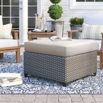 *Merlyn Outdoor Ottoman with Cushion - FINAL SALE