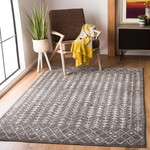 *10' x 13' - Dark Gray/Ivory Area Rug