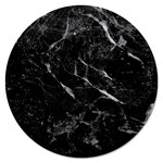 "Glass 13"" Lazy Susan - Black Marble"