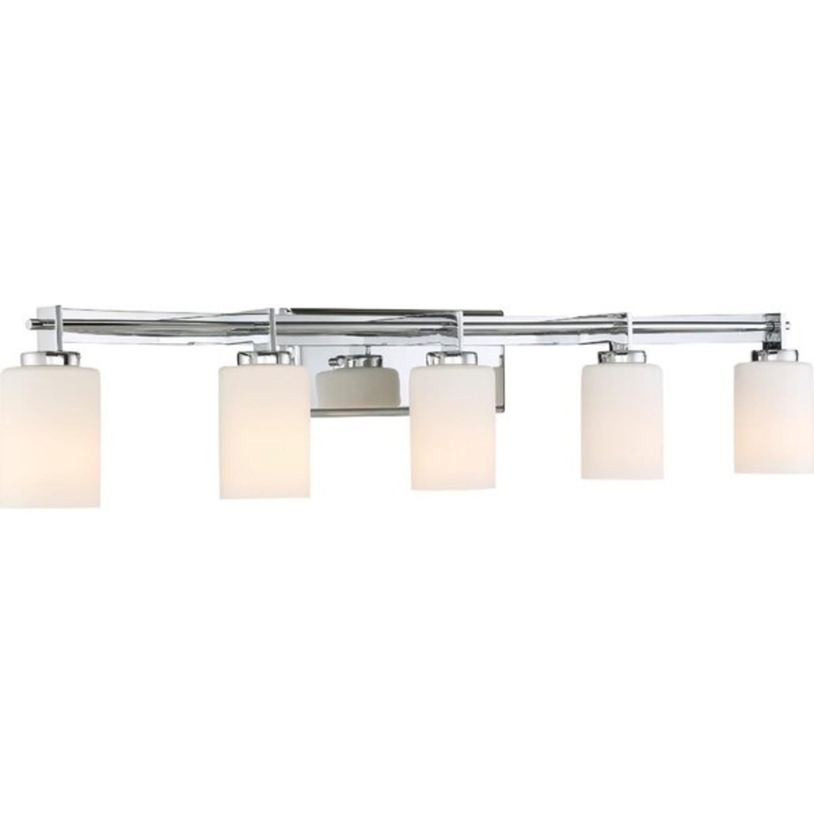 *Burchell 5-Light Vanity Light - Polished Chrome