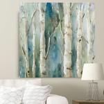 "16"" x 16"" - River Birch I' by Carol Robinson Painting Print"