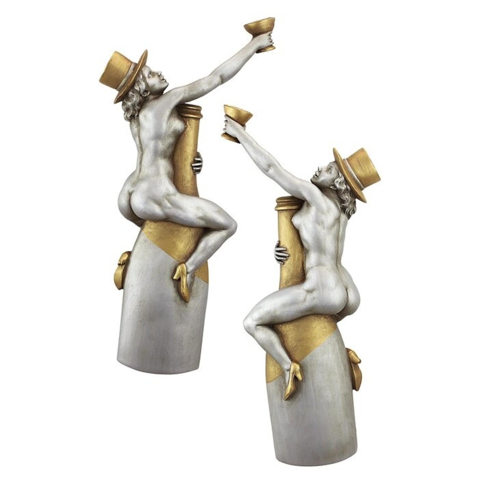 *2 Piece Champagne Cuddle Cuties Bar Wall Decor