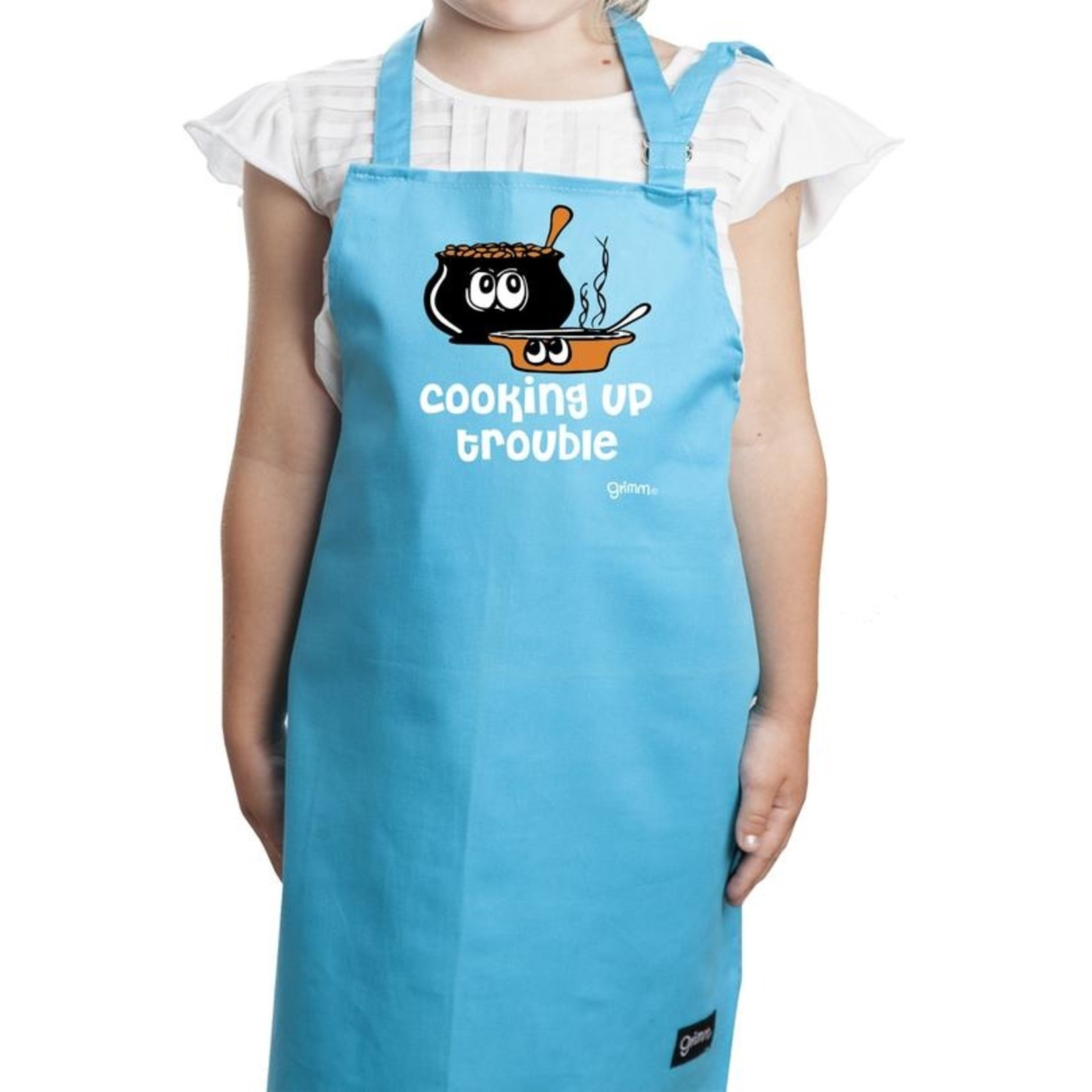 Children's Apron - Cooking Up Trouble