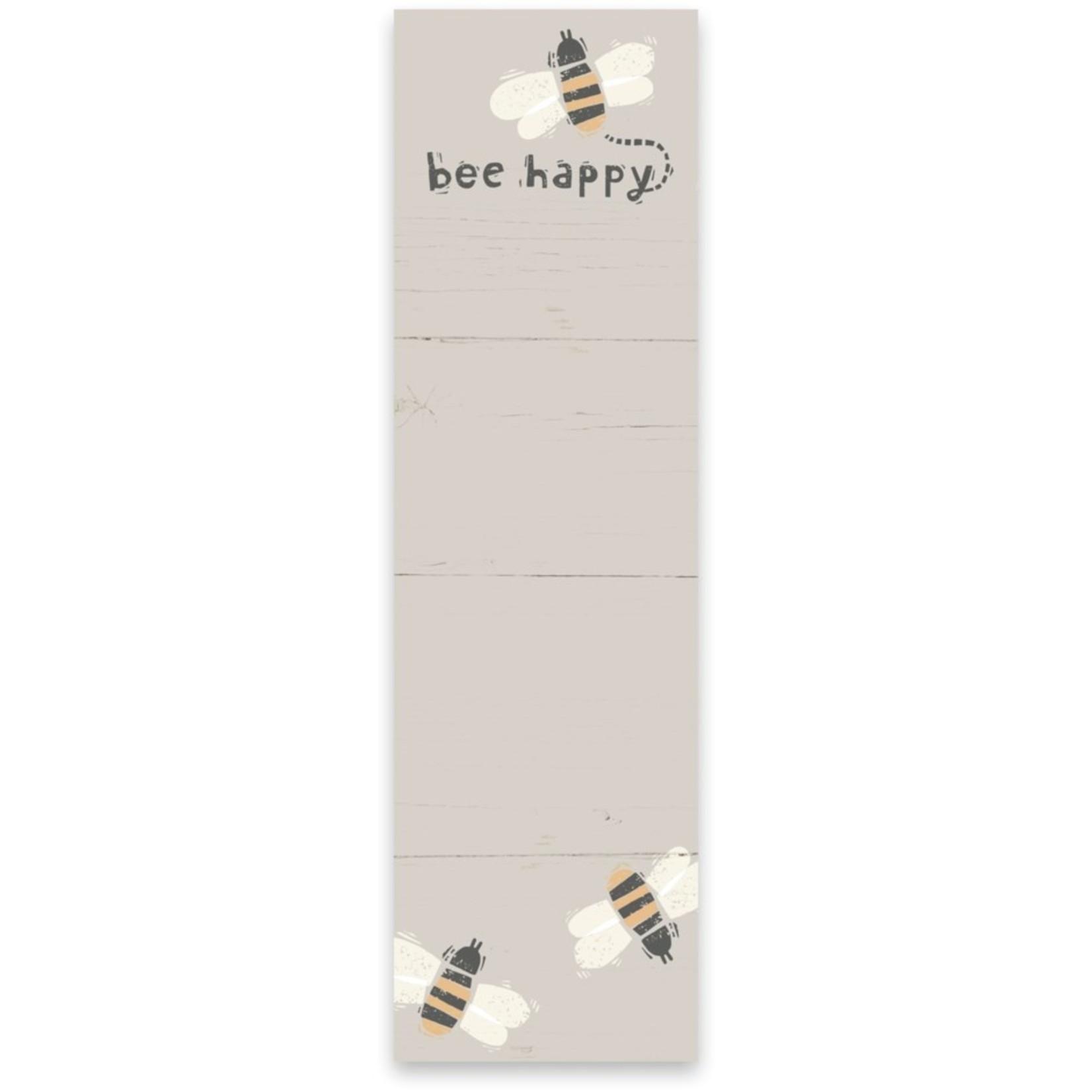 List Notepad - Bee Happy