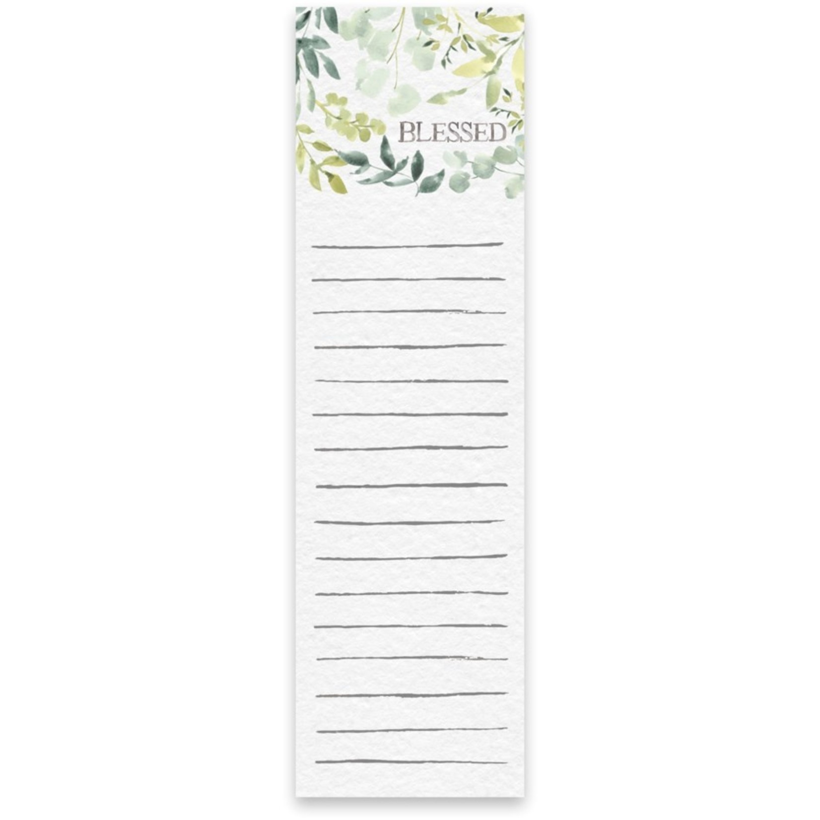 List Notepad - Blessed
