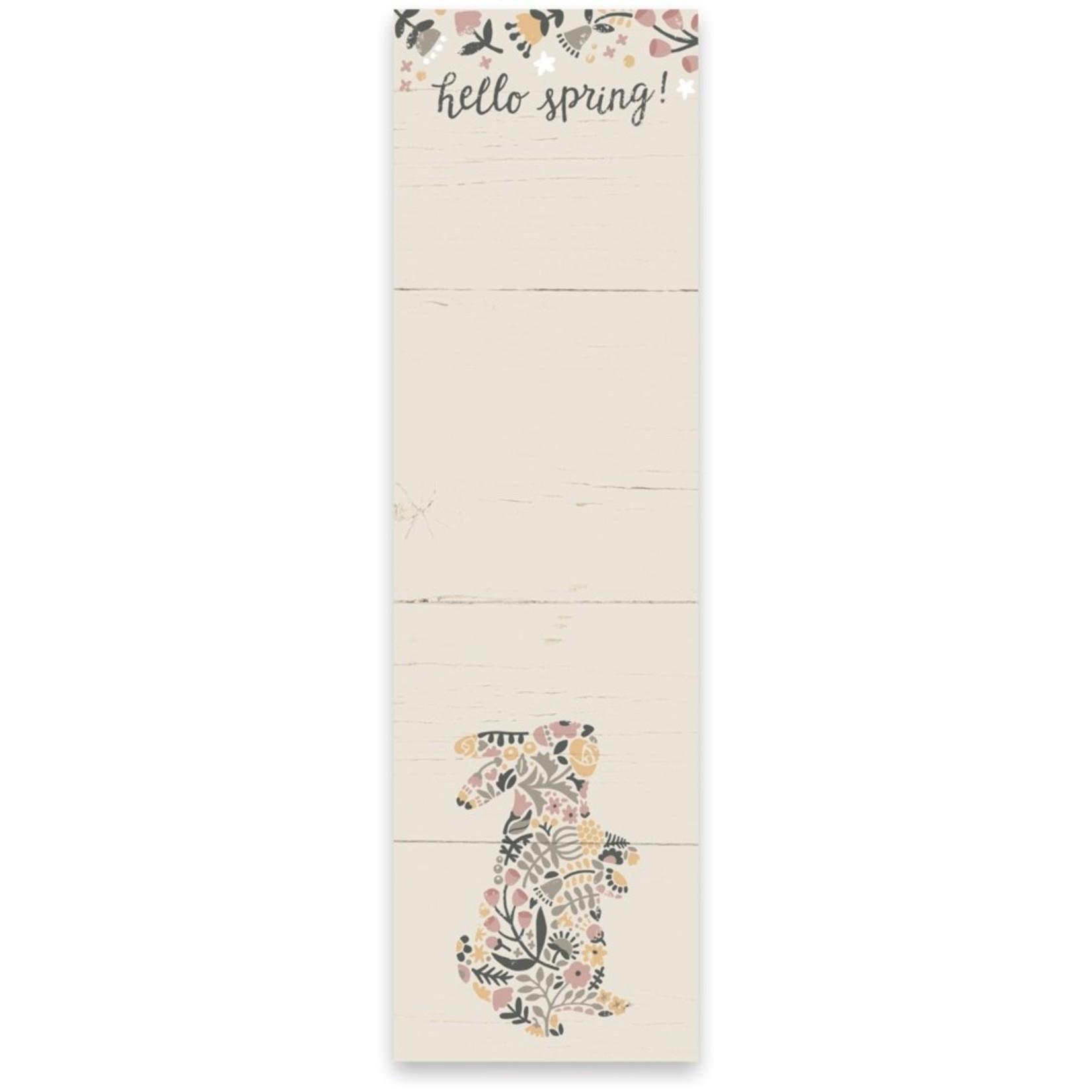 List Notepad - Hello Spring