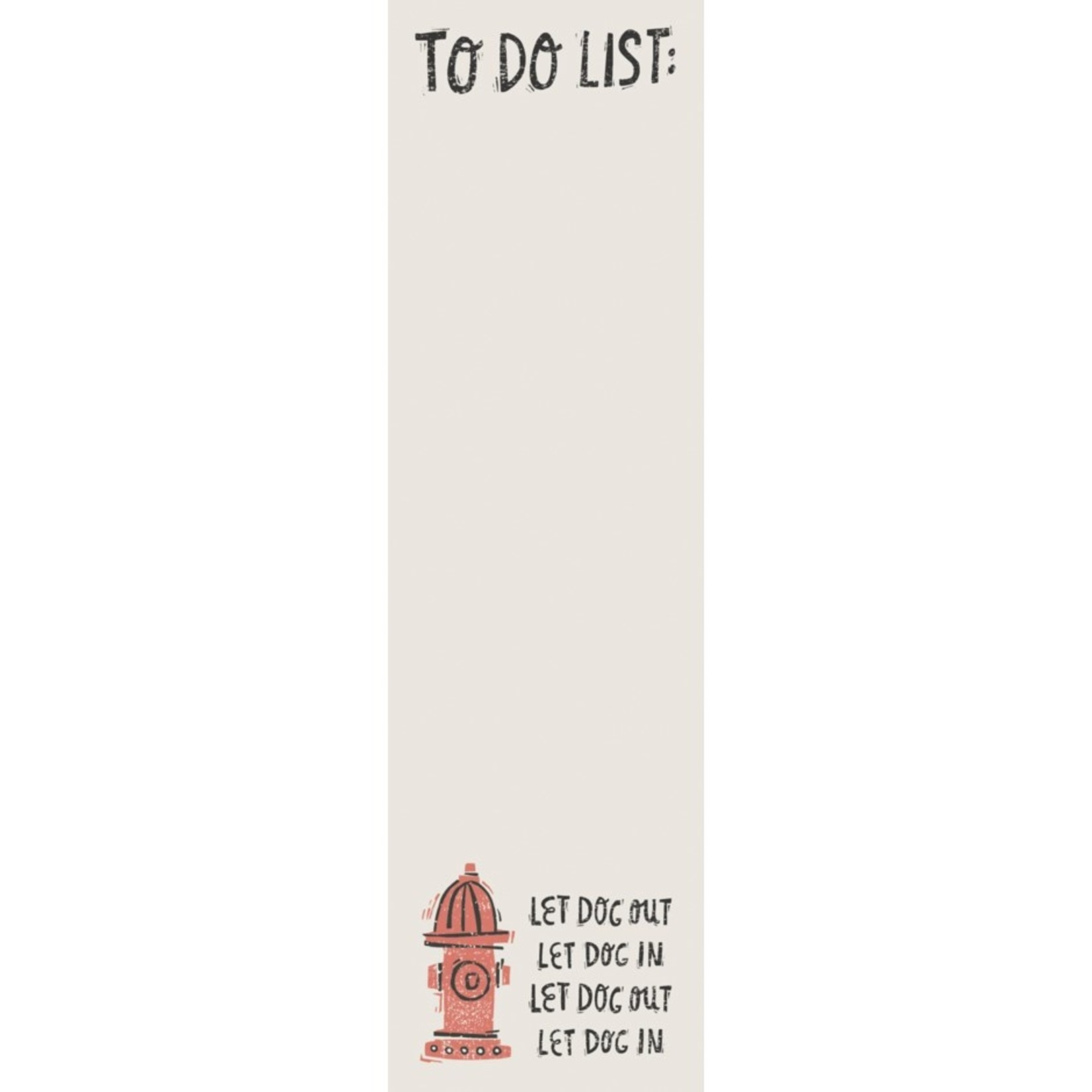 List Notepad - To Do, Fire Hydrant