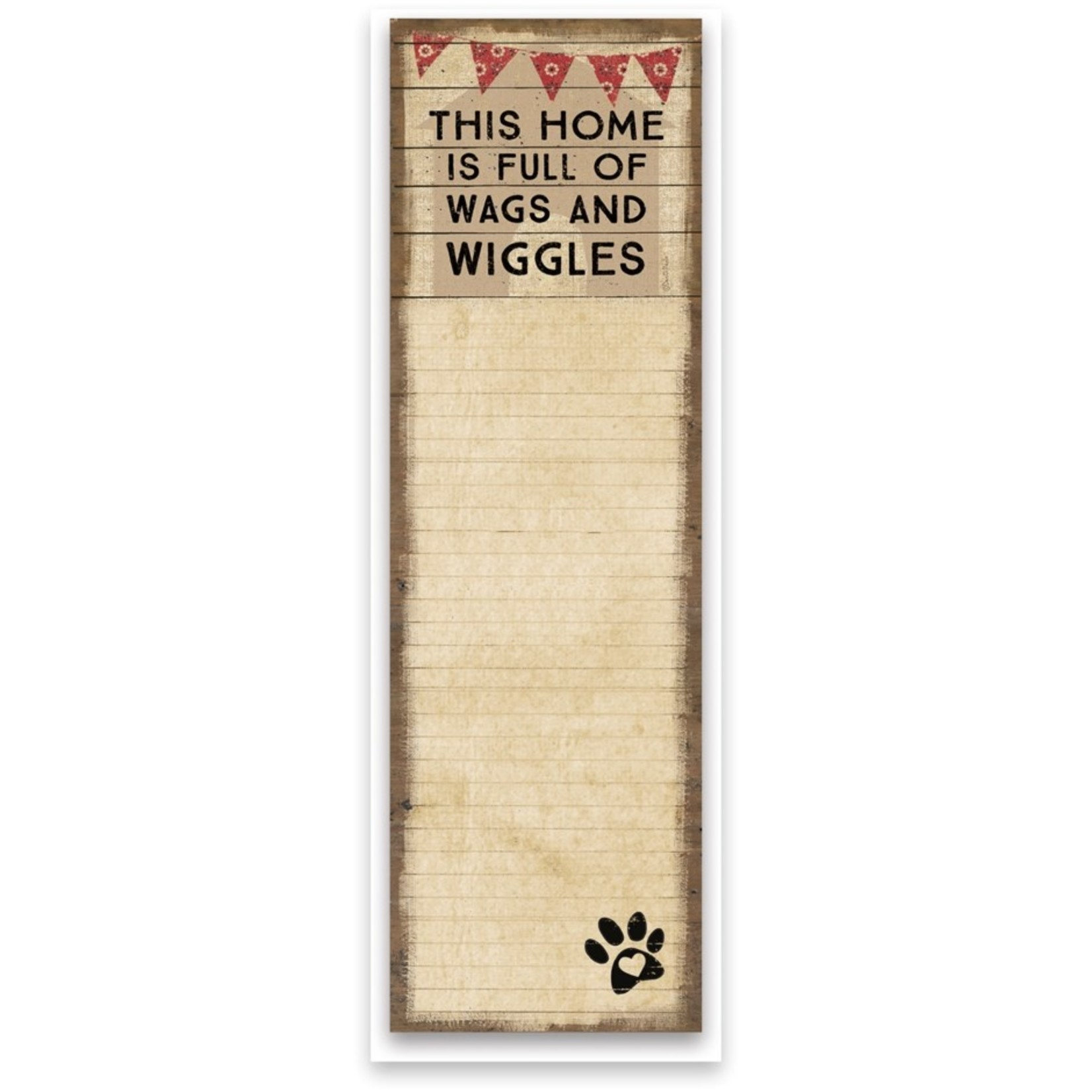 List Notepad - Wags and Wiggles