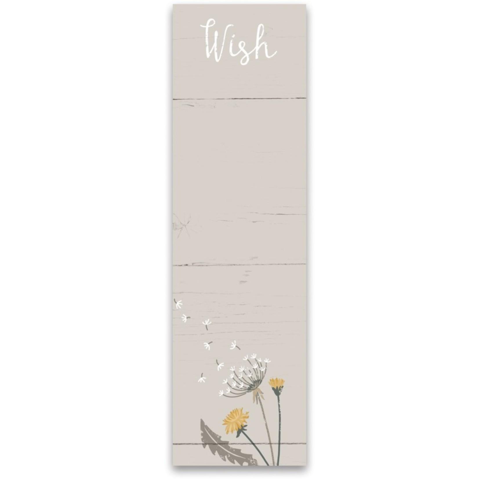 List Notepad - Wish
