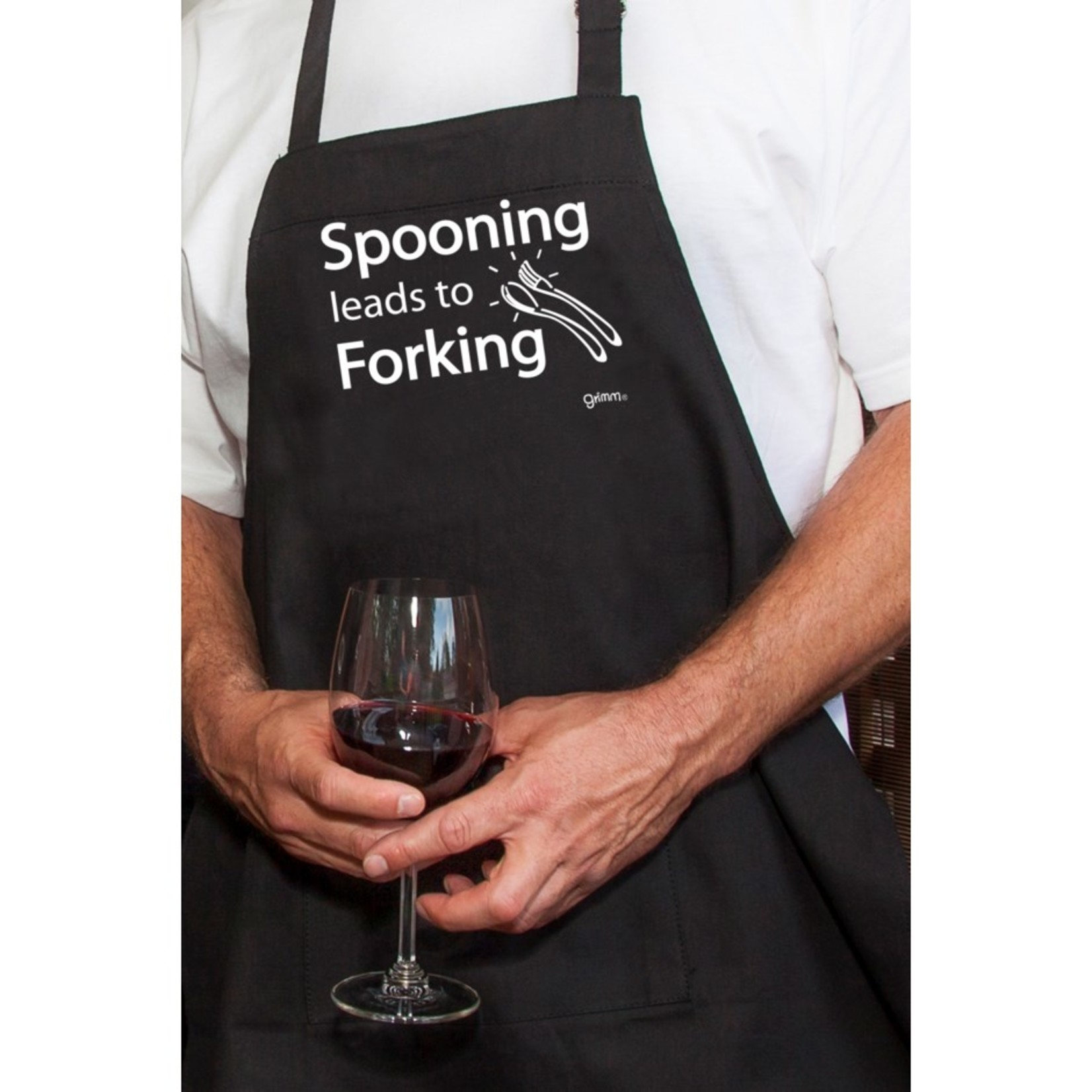 Adult Apron - Spooning
