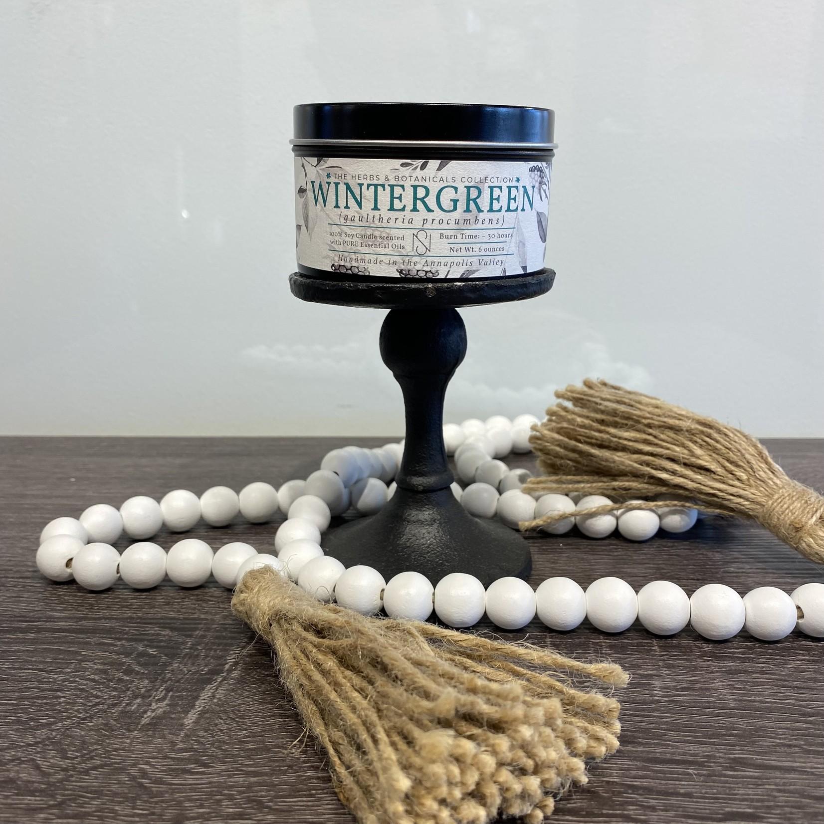 Herbs & Bottanical Tin - New Scotland Candle Company