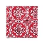 ARTISAN NAPKIN S4 18X18 RED - Set of 4