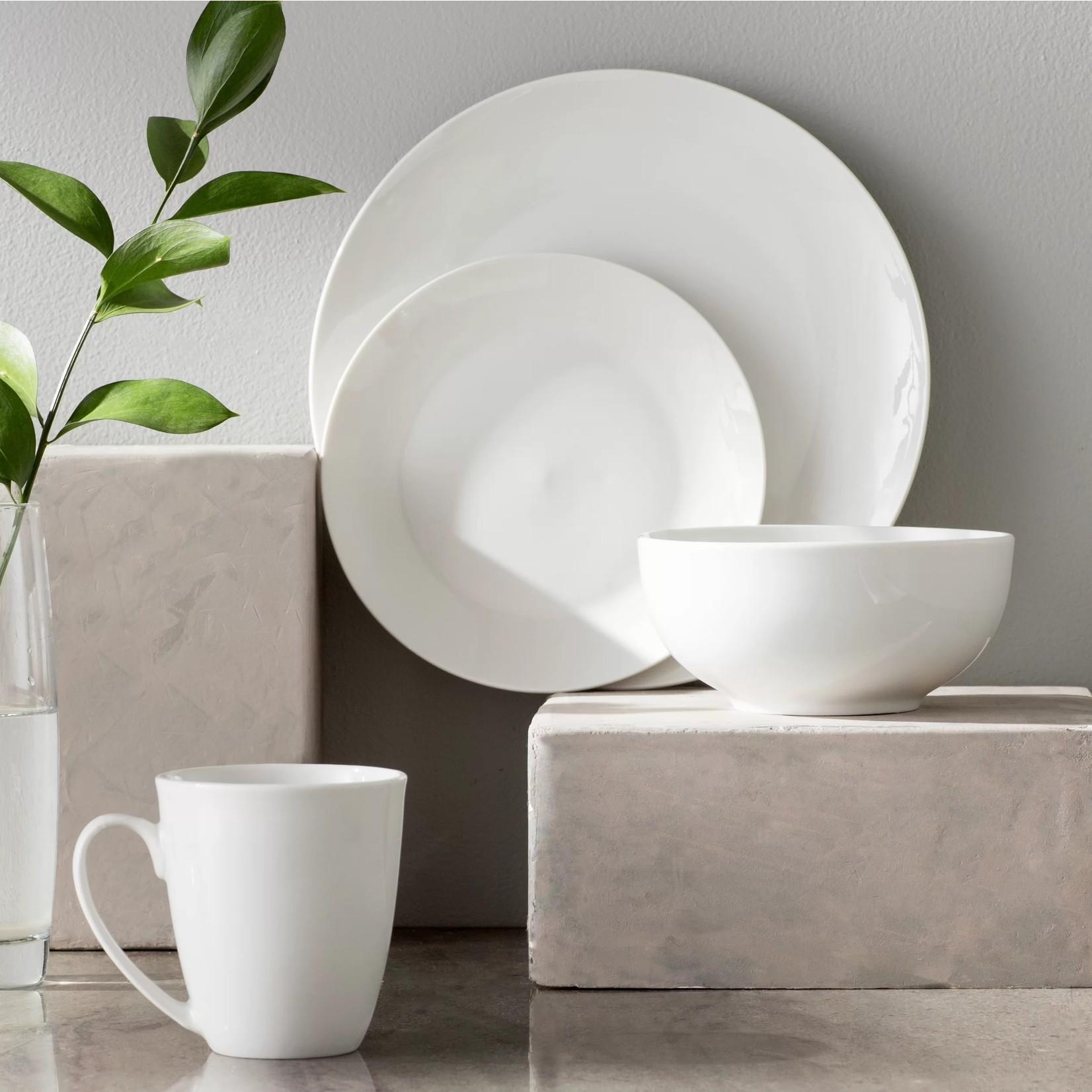 *Harrill 16 Piece Dinnerware Set - Service for 4 - White