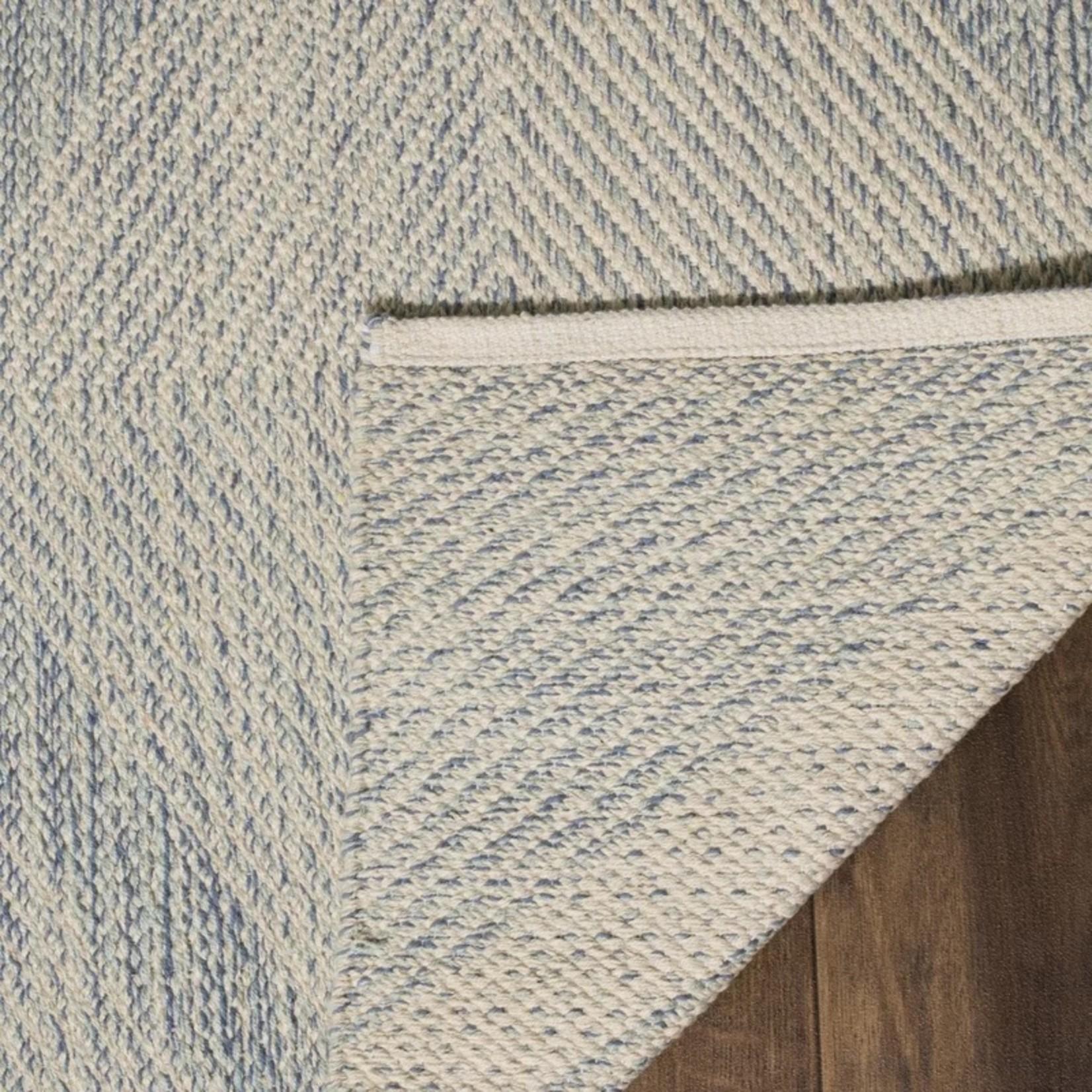 * 8' x 10' - Jodi Cotton Light Blue Area Rug