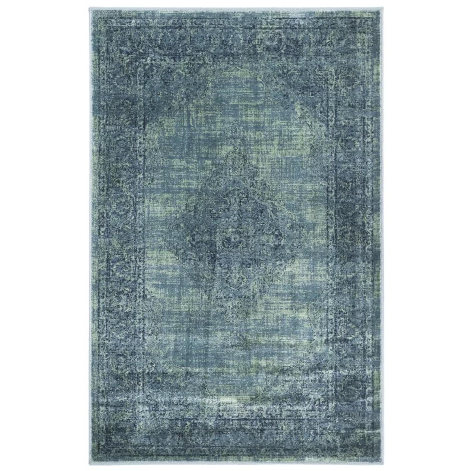 *8' X 10' - Makenna Turquoise/Blue Area Rug