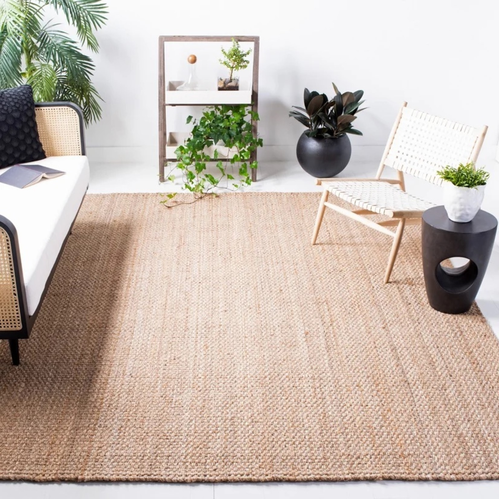 *6' x 9' - Addilyn Handmade Flatweave Jute/Sisal Natural Area Rug