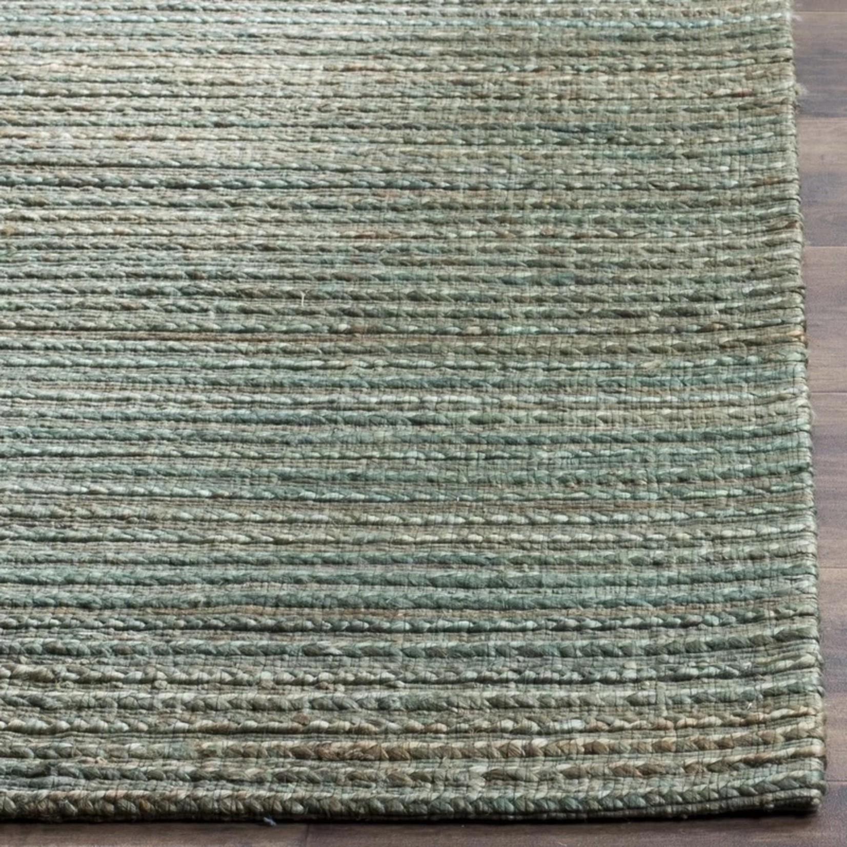 *5' x 8' - Abia Handmade Flatweave Sage/Natural  Area Rug