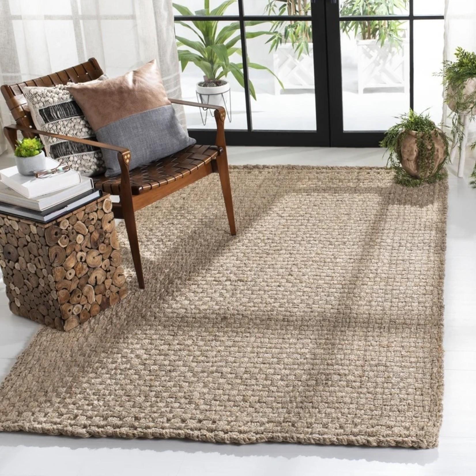 *5' x 8' - Rockport Handmade Flatweave Brown Area Rug