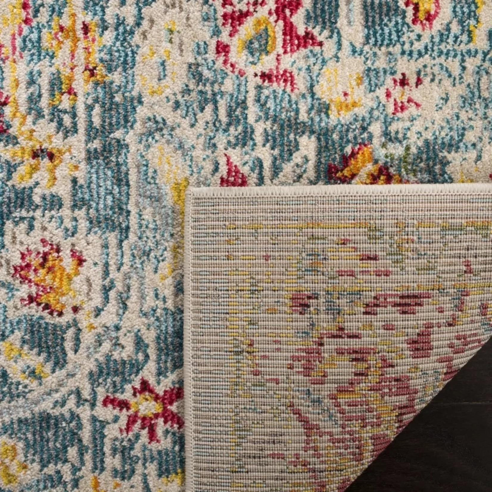 *5'1 x 7'6 - Baughman Blue/Yellow Area Rug