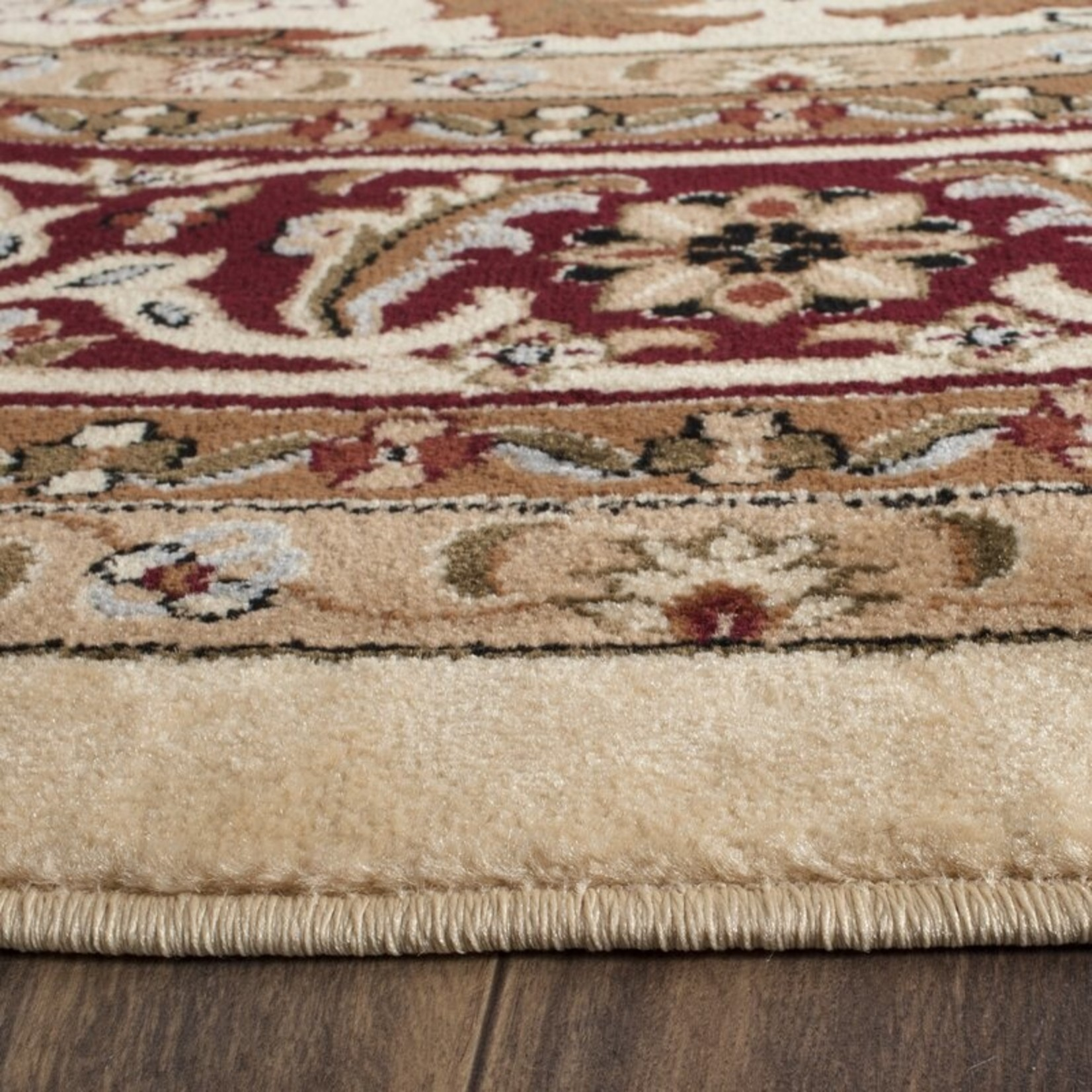 *11' x 15' - Leona Oriental Ivory/Red Area Rug