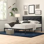 *Full - Brookneal Tufted Upholstered Platform Bed - Black - FINAL SALE