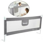 *Foldable Toddler Bed Rail - Gray