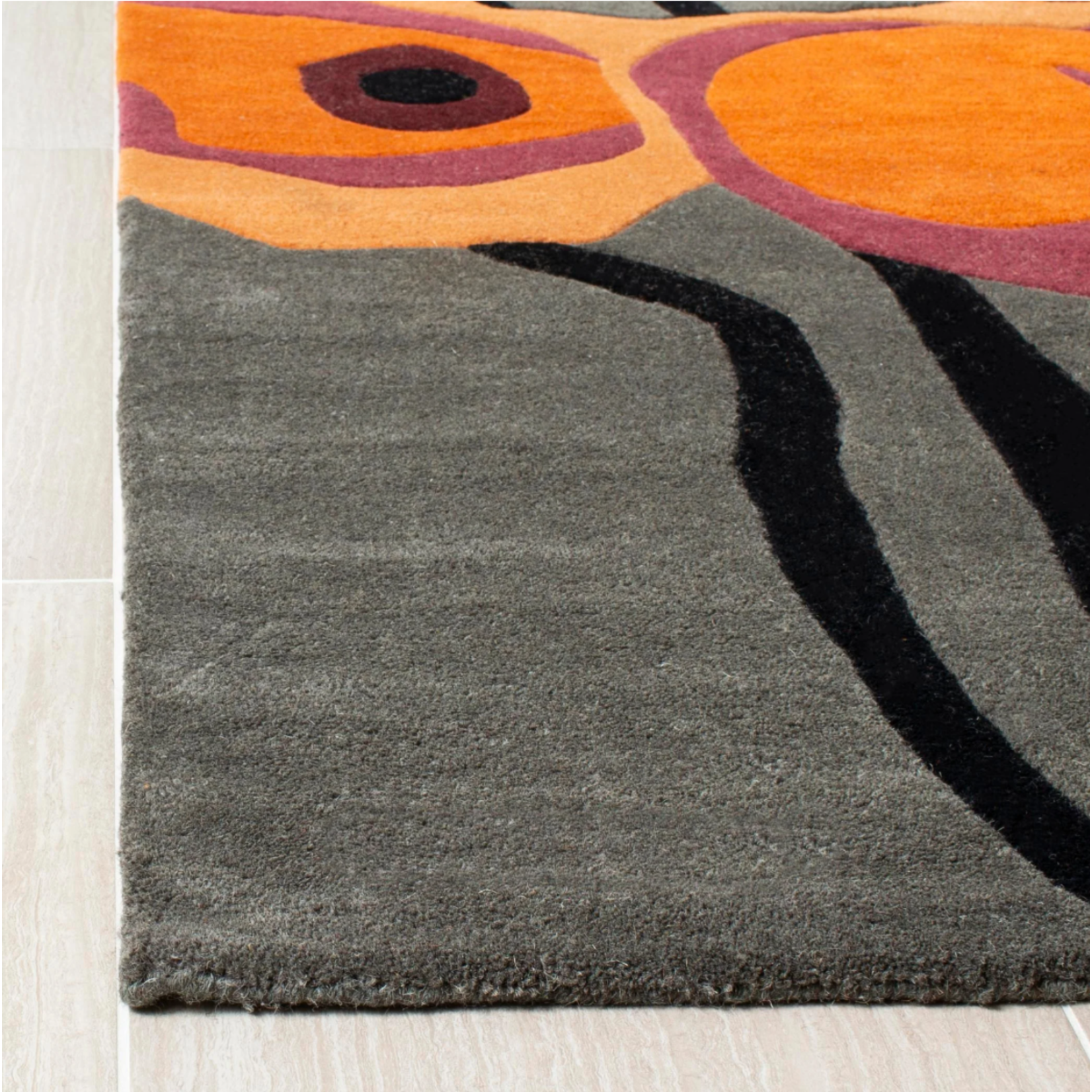 * 5' x 8' - Armstrong Hand-Tufted Gray Area Rug