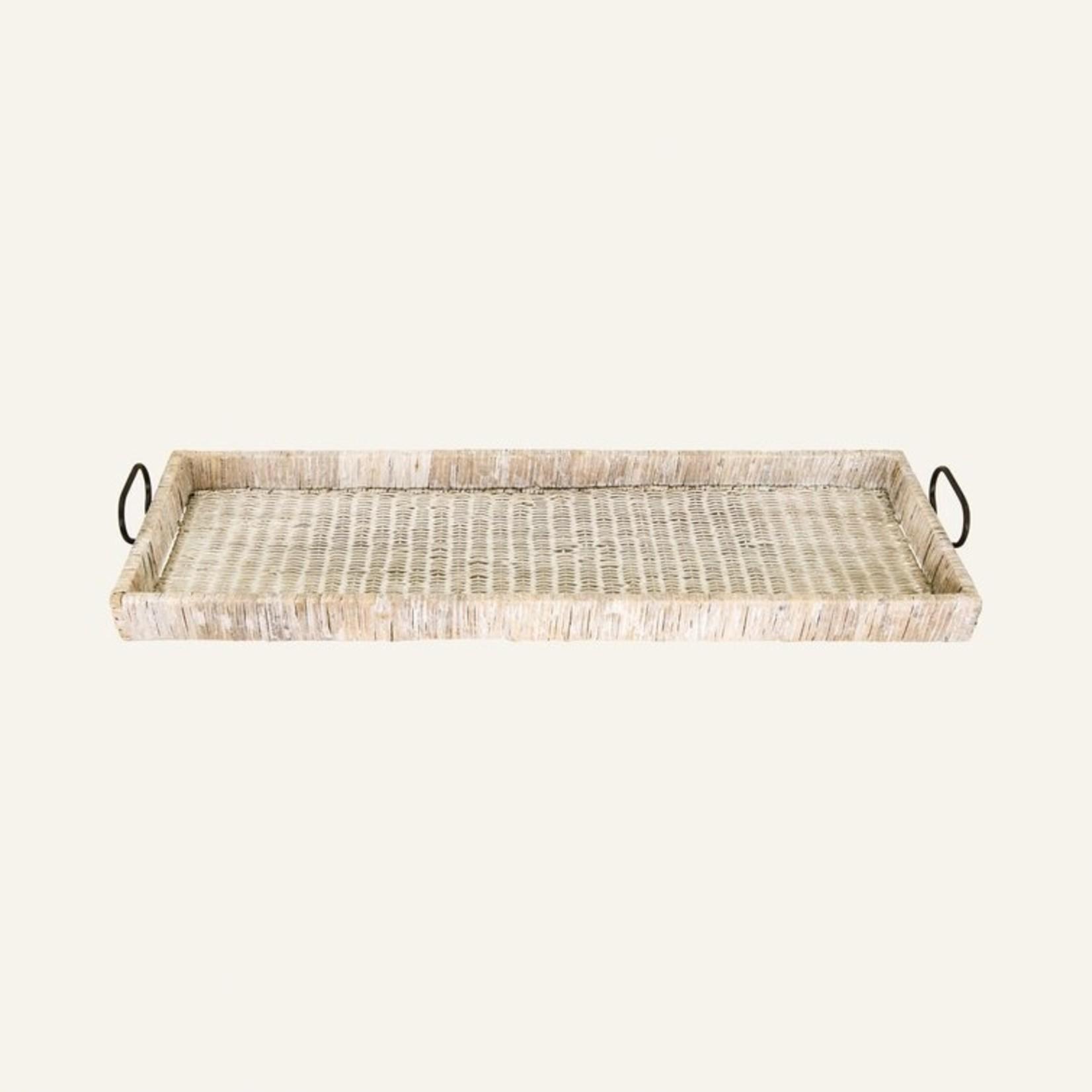 *Hadley Ottoman/Coffee Table Tray