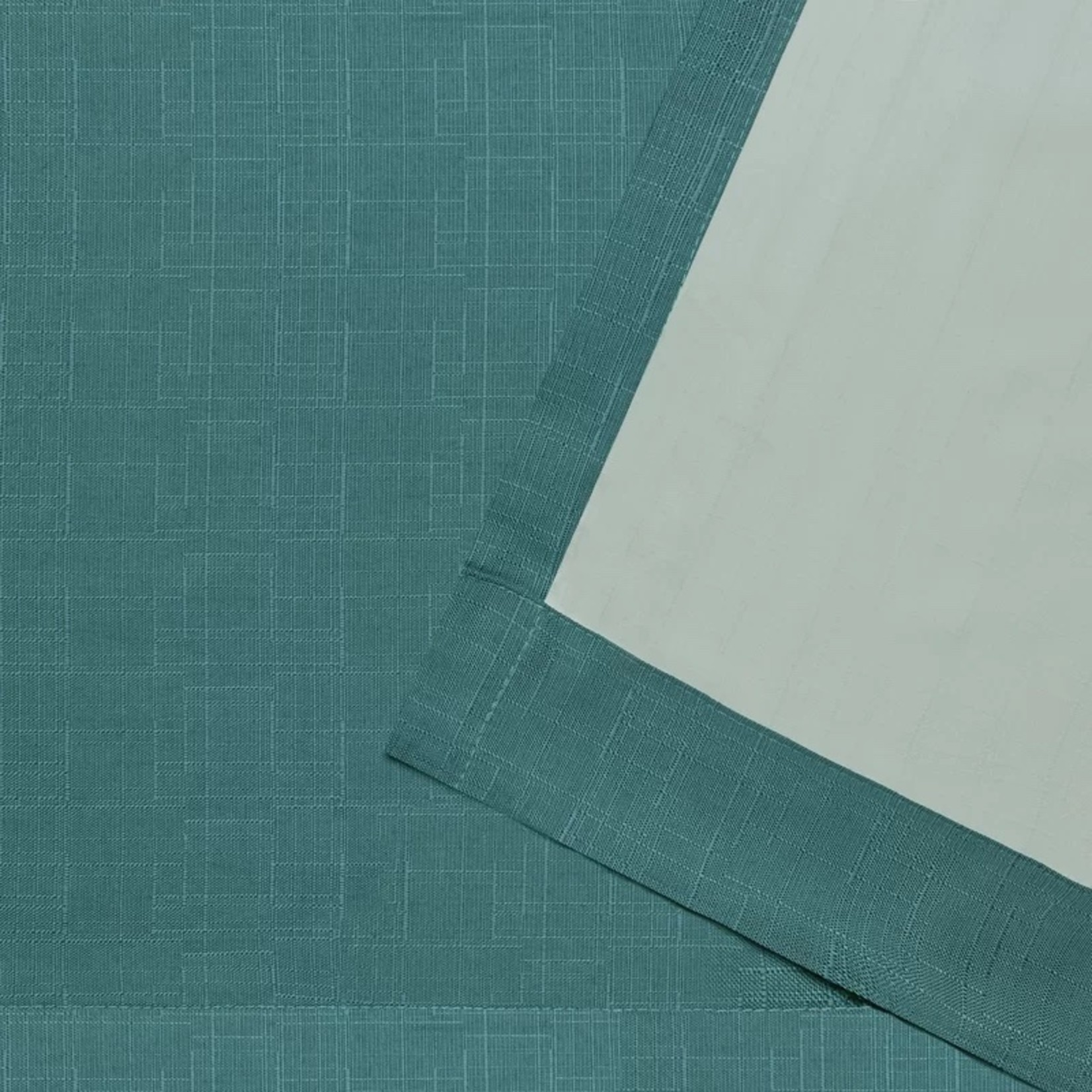 "*Aaliyah Solid Color Semi-Sheer Grommet Curtain Panels - 54"" x 84"" - Set of 2 - Final Sale"