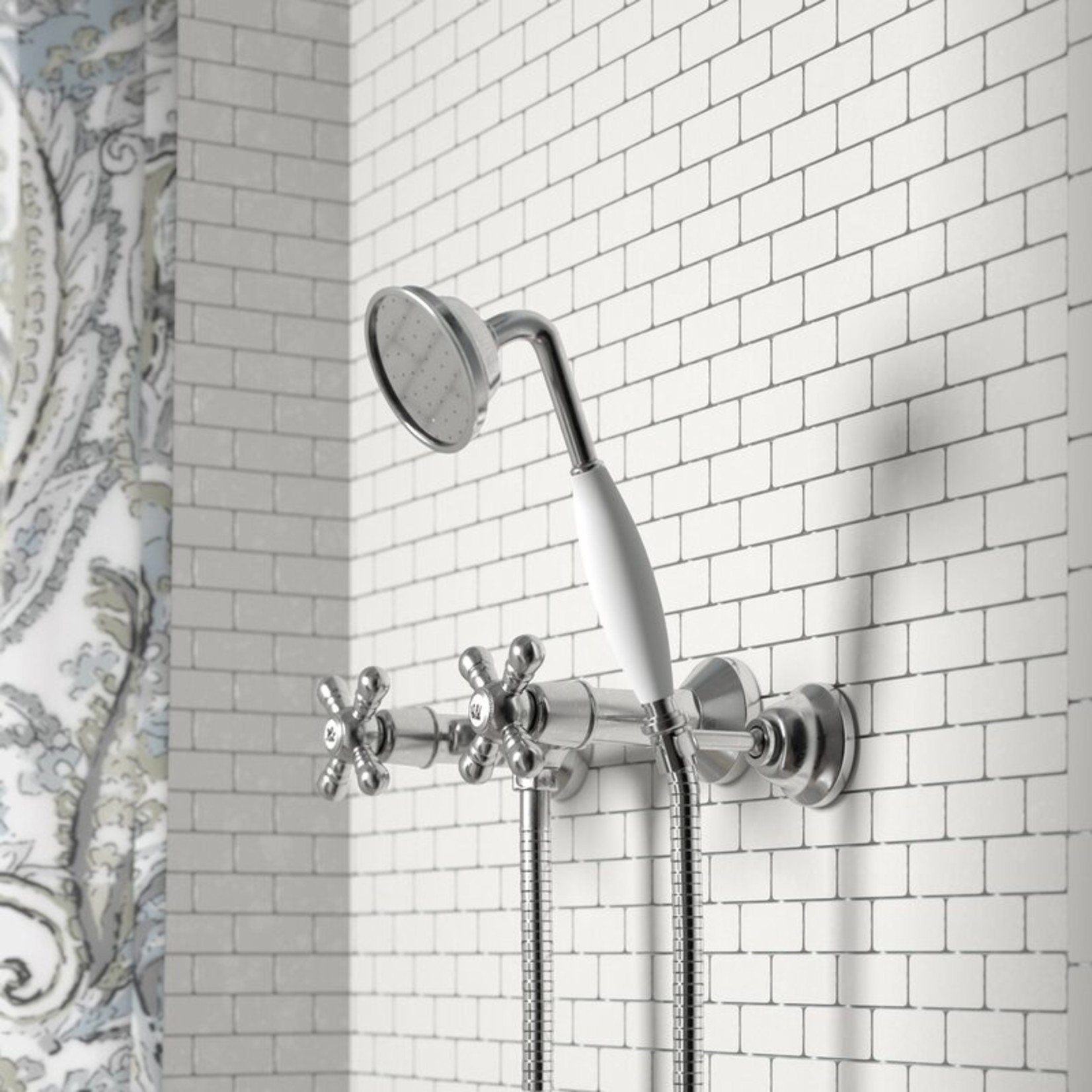 *Isai Shower Mixer with Cross Handle