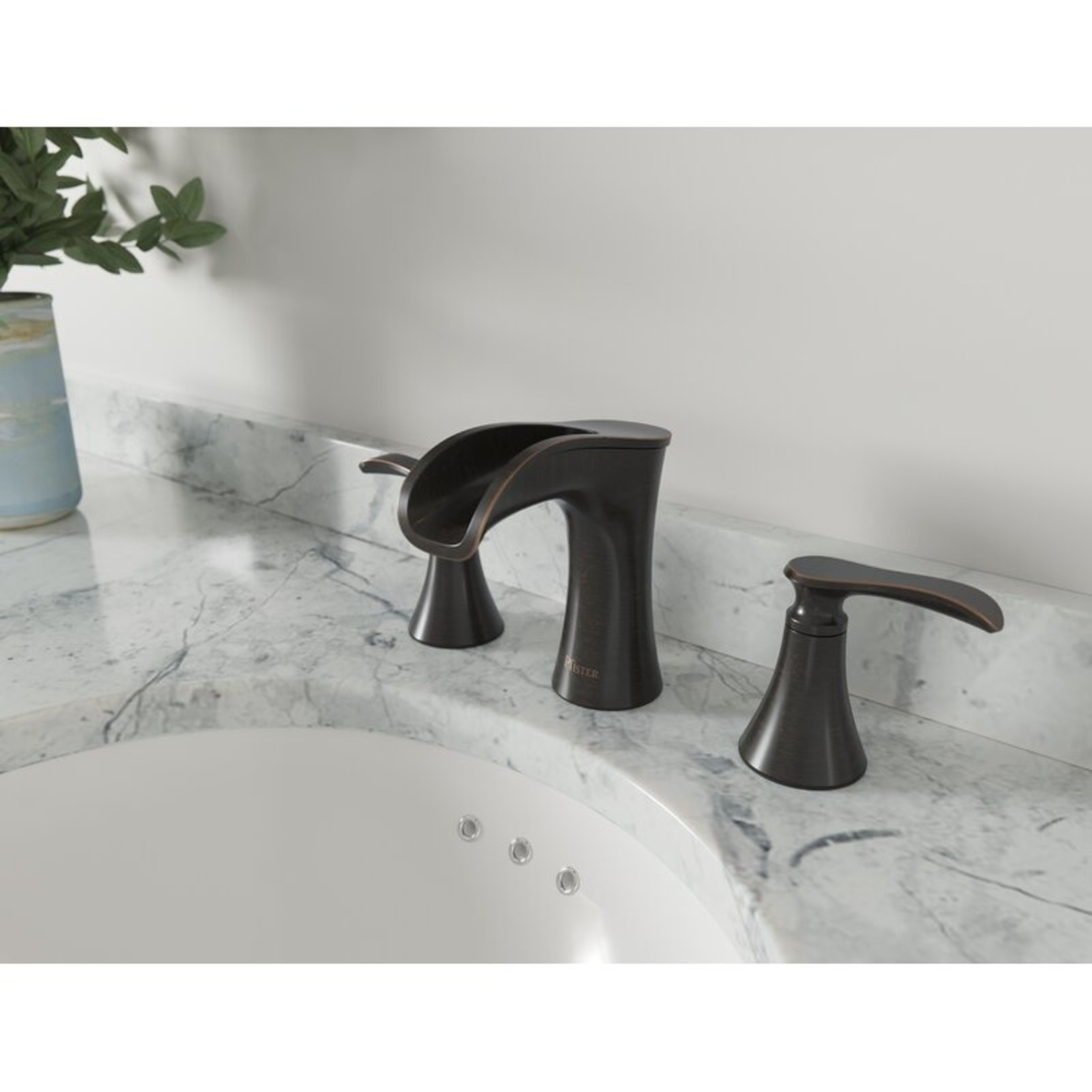 *Jaida Widespread Bathroom Faucet with Drain Assembly