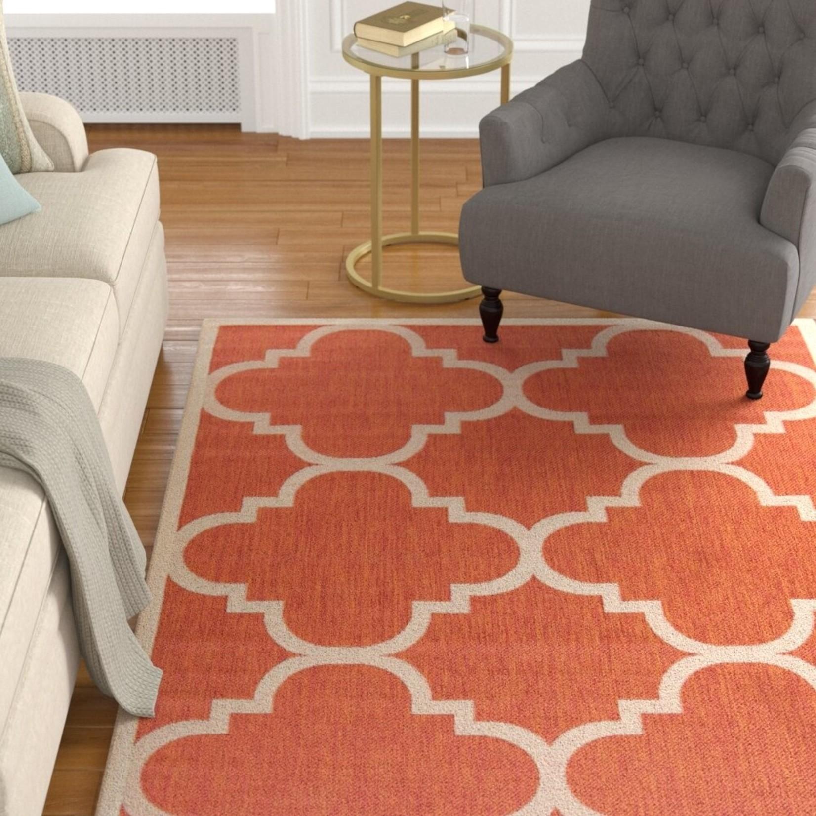 *9x12 - Herefordshire Terracotta Indoor/Outdoor Rug
