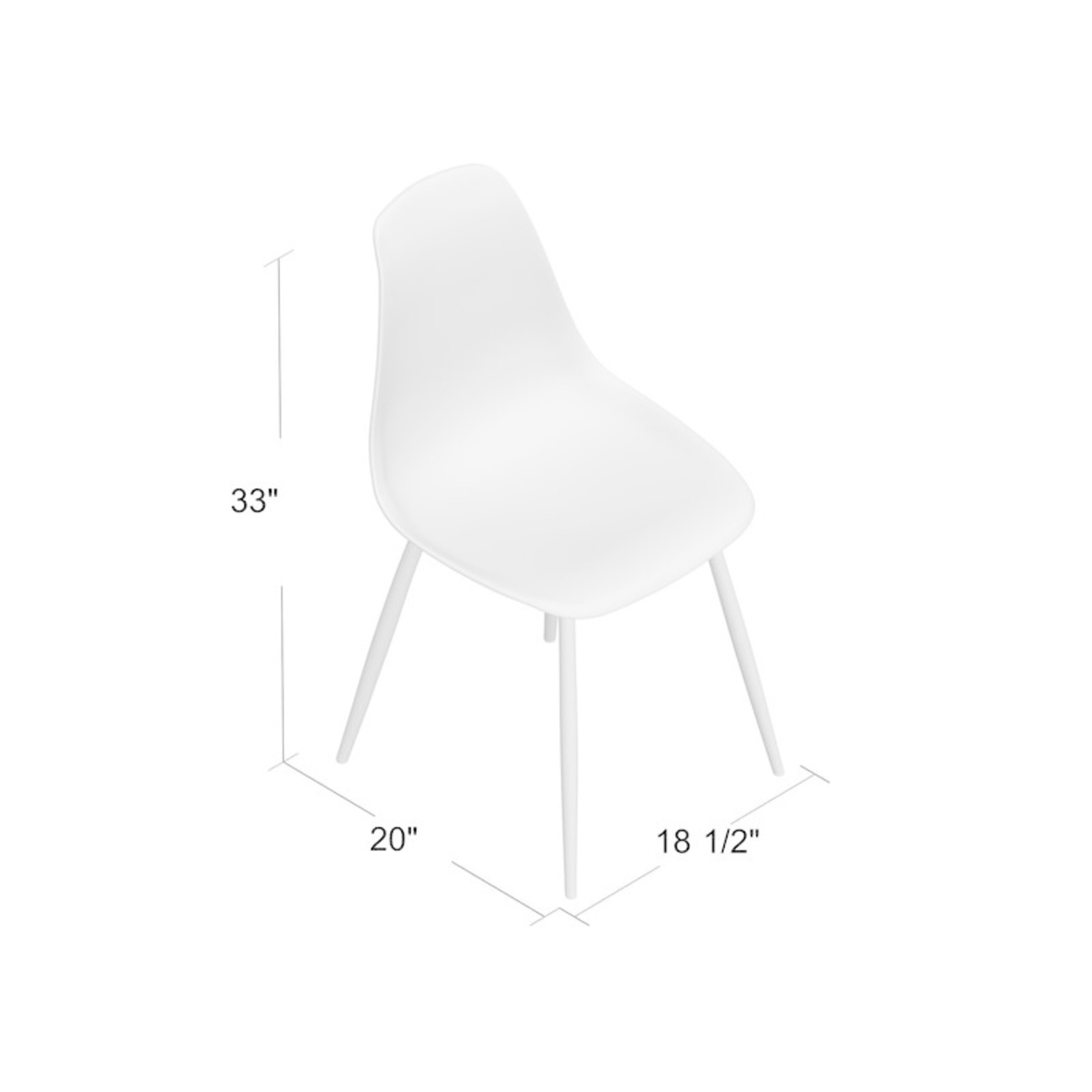 *Cockermouth Side Chair - Smoke Gray and Walnut - Set of 4