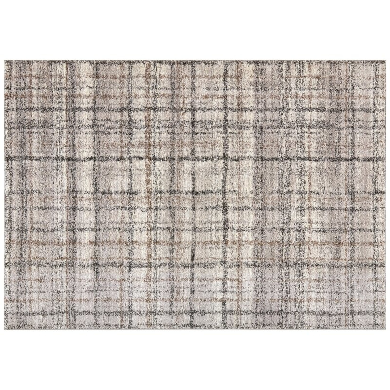 *6'6 x 9'6 - Parkridge Stricker Soot Gray Area Rug