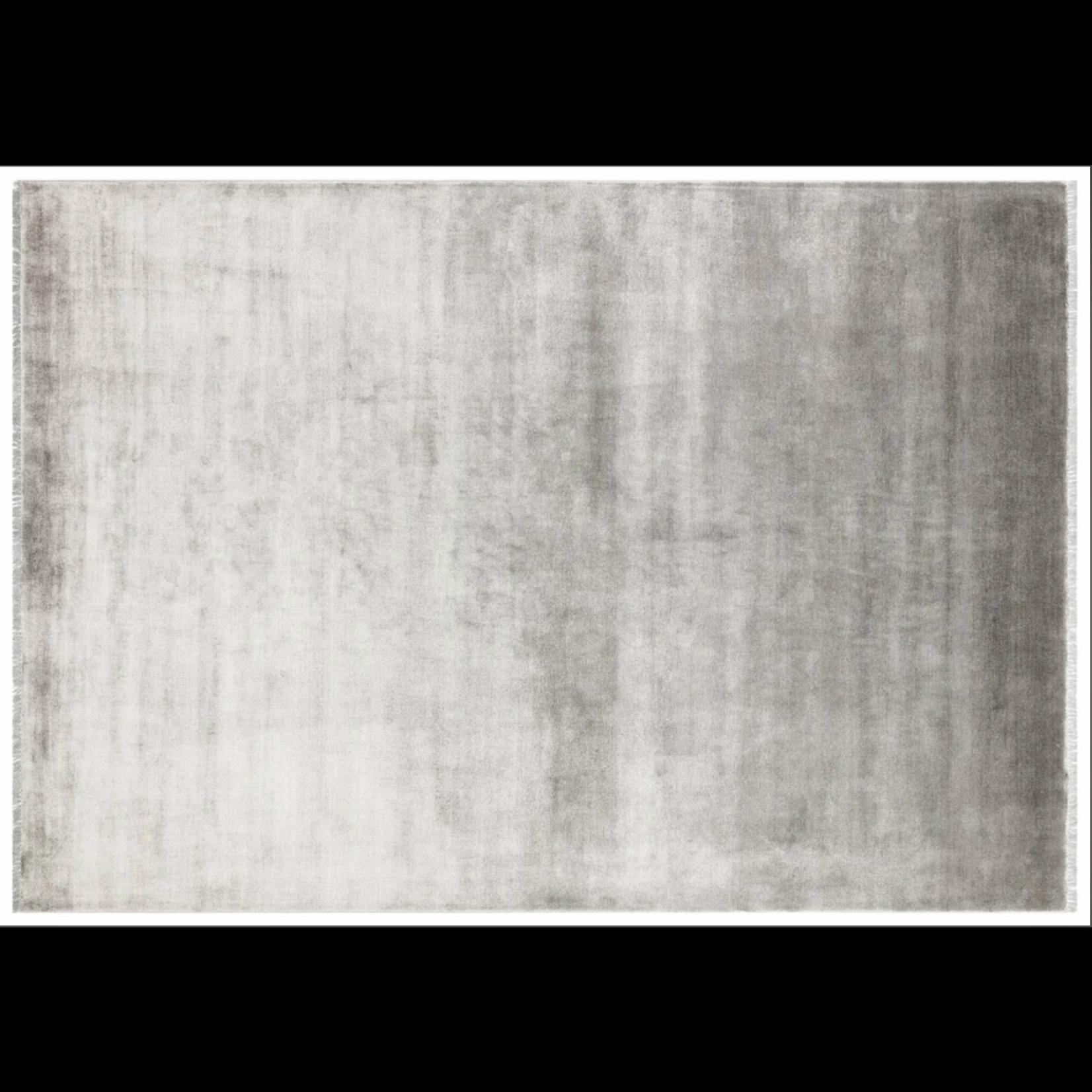 *5'3 x 7'7 - Klas Bamboo and Viscose Grey Area Rug