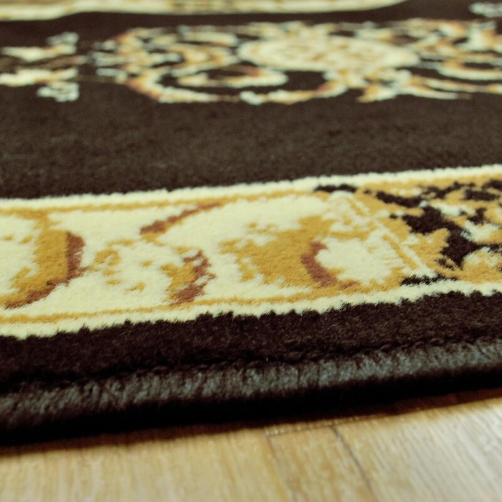 *8' x 10' - Dodington Oriental Coffee Area Rug