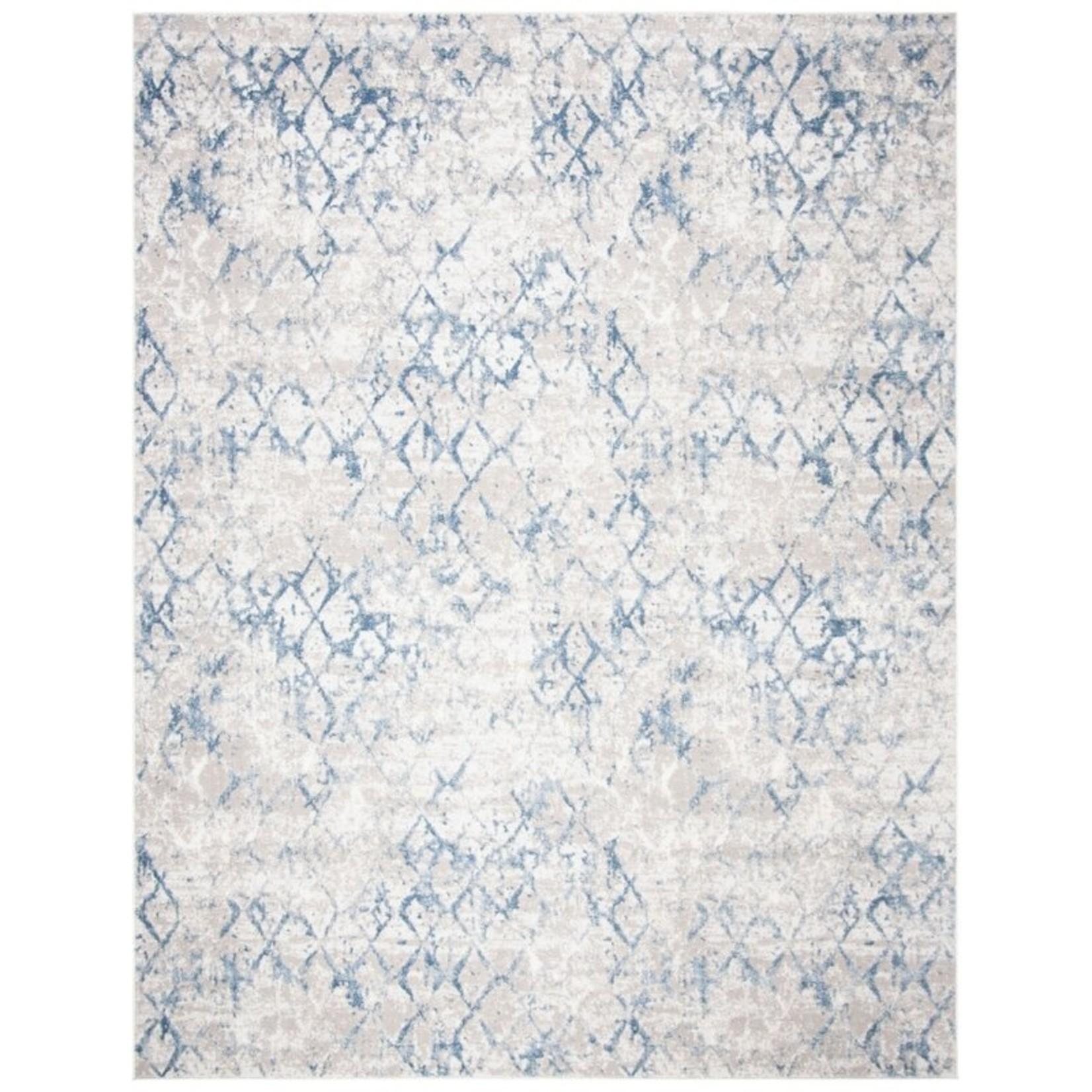 *12' x 18' - Wincott Geometric Blue Area Rug