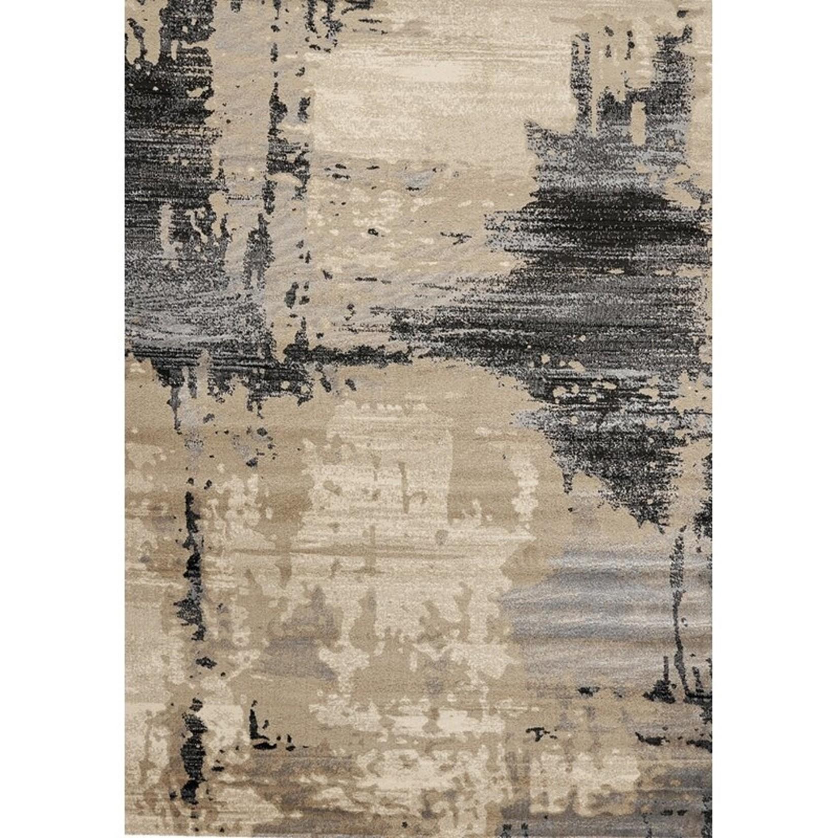 *7'10 x 10'6 - Arden Beige/Black Area Rug