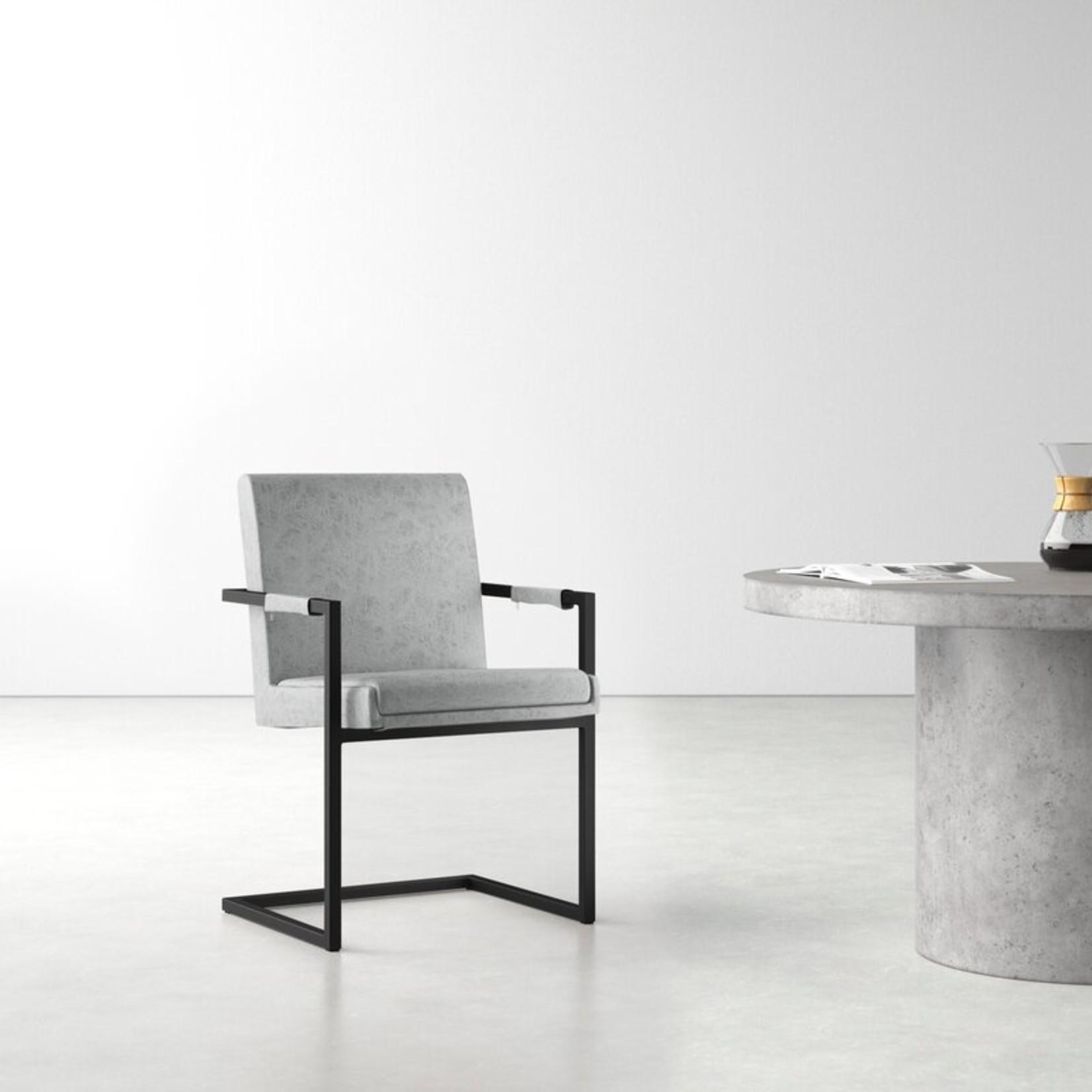 *Keana Arm Chair - Grey - Set of 2