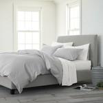 *King - Burnabbie Reversible Comforter Set - Gray - FINAL SALE
